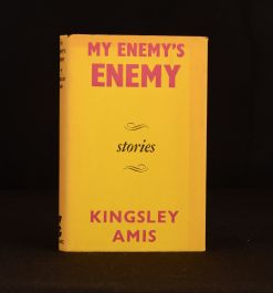 1962 Amis My Enemy's Enemy First Ed Kingsley Amis Novel Victor Gollancz