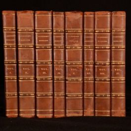 1761-1829 8vols The History of the Rebellion and The Life of Earl of Clarendon