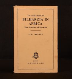 1951 Snail Hosts of Bilharzia in Africa Alan Mozley Illustrated Dustwrapper 1st