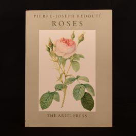 1954 Pierre-Joseph Redoute Roses Eva Mannering Illustrated Flowers