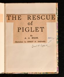 c1925 The Rescue of Piglet