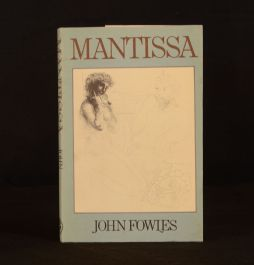 1982 Mantissa Muse Erato John Fowles First Edition Dustwrapper