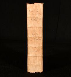 1720 Epigrammatum Libri XI. Interpretatione Notis Illustravit Vincentius