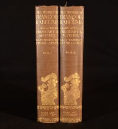 1927 The Complete Works of Doctor Francois Rabelais