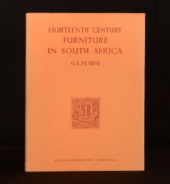 1960 Eighteenth Century Furniture in South Africa G. E. Pearse Illustrated