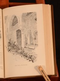 1921 The Alhambra Washington Irving Pennell Illustrated Leather