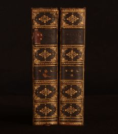 1898 2vol Critical and Historical Essays Lord Macaulay Relfe Brothers Binding