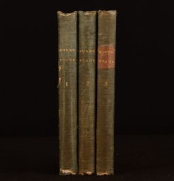 1840 3vol The Stage Both Before and Behind the Curtain Alfred Bunn