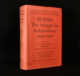 1984 Burma the Struggle for Independence 1944-1948