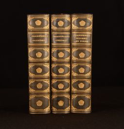 1925 3vol Shakespeare's  Comedies Histories and Poems Tragedies E J Sullivan