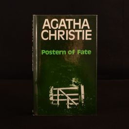 1973 Postern of Fate Agatha Christie First Edition Dustwrapper Crime