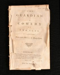 1759 The Guardian a Comedy of Two Acts