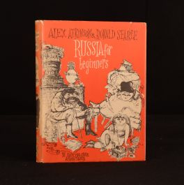 1960 Ronald Searle Russia For Beginners Alex Atkinson First Edition Illus