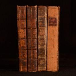 1774-1782 4vol Rational Recreations Conjuring Pyrotechnics Optics W Hooper