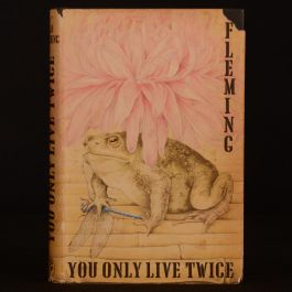 1964 You Only Live Twice Fleming First Edition Second Impression Dustwrapper