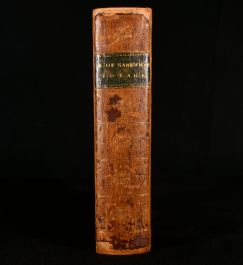 1799 A Voyage Performed By the Late Earl of Sandwich Round the Mediterranean