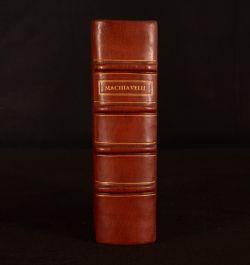 1610 Tutte Le Opere di Nicolo Machiavelli Cittadino et Secretario Fiorentino