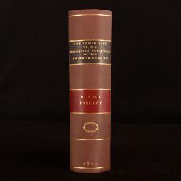 1876 Religious Societies of the Commonwealth Robert Barclay Non Conformist History Very Scarce