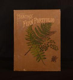 1885 The Fern Portfolio Francis George Heath Illustrated Colour Plates 3rd