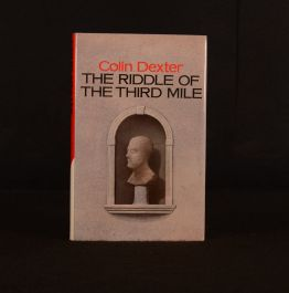 1983 Colin Dexter The Riddle of the Third Mile Signed 1st Edition Morse