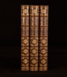 1854 3Vol Samuel Johnson Lives of the Eminent English Poets Cunningham Notes