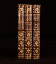 1854 3Vol Samuel Johnson Lives of the Eminent English Poets Cunningham Notes