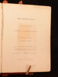1836 The Rhine Boat Lay of Many Lands Romance Very Scarce Signed