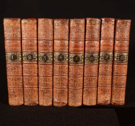 1762 The Works of Shakespeare in Eight Volumes
