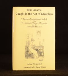 2003 Jane Austen Caught in the Act of Greatness Arthur Axelrad Gilson 1st