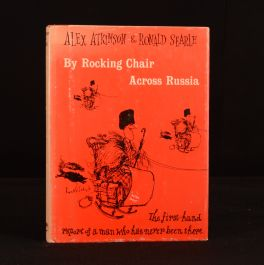 1960 By Rocking-Chair Across Russia Russia for Beginners Alex Atkinson Ronald Searle