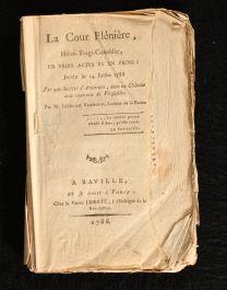 1788 La Cour Pleniere Heroi Tragi Comedie En Trois Actes et en Prose