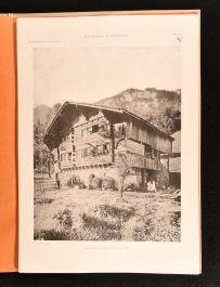 1900 Maisons de Ferme Suisses Das Bauernhaus in Der Schwiz Lieferung I