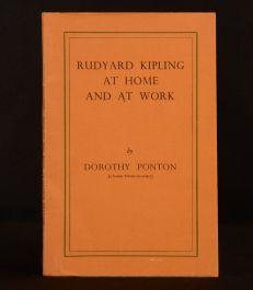 Rudyard Kipling at Home and at Work