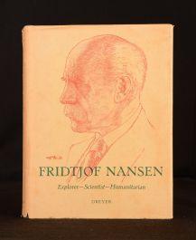1961 Fridtjof Nansen Explorer Scientist Humanitarian Per Vogt Illus