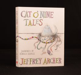 2006 Cat O Nine Tales Ronald Searle Jeffrey Archer First Edition Prison Stories