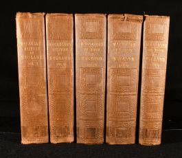 1850 The History of England from the Accession of James the Second