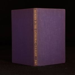 1935 Murder In The Cathedral T S Eliot Second Impression Verse Drama