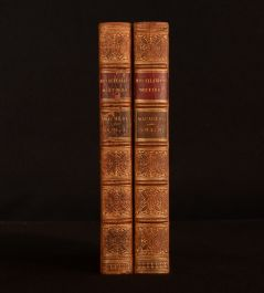 1860 2vols The Miscellaneous Writings of Lord Macaulay Frontispiece