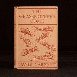 1931 The Grasshoppers Come David Garnett First Edition Dustwrapper Adventure