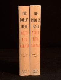 1959-1960 2Vol The Bodley Head Scott Fitzgerald The Great Gatsby Dustwrappers