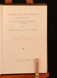 1900 A Book For All Readers Ainsworth Rand Spofford