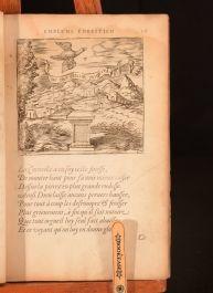1602 Emblemes Ou Devises Chrestiennes Georgette de Montenay Very Scarce Protestant
