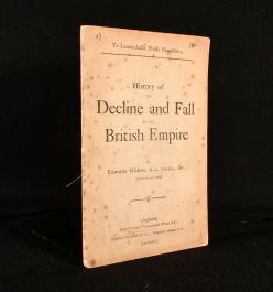 1884 History of the Decline and Fall of the British Empire