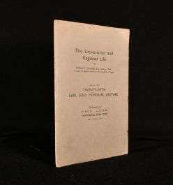 1943 The Universities and Regional Life
