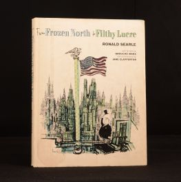 1964 Ronald Searle From Frozen North to Filthy Lucre Groucho Marx Jane Clapperton