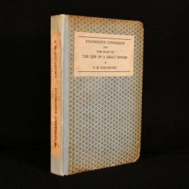 1922 Stavrogin's Confession and  the Plan of the Life of a Great Sinner