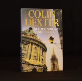 1996 Death Is Now My Neighbour Colin Dexter Signed First Edition Inspector Morse