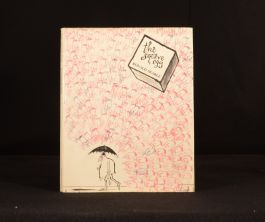 1968 Ronald Searle The Square Egg Cartoons Illustrations First Edition Dustwrapper