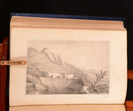 1850 2vols Wanderings of a Pilgrim in Search of the Picturesque Zenana Illus Fanny Parks Scarce