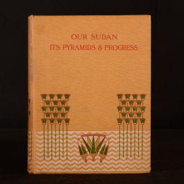 1905 Our Sudan John Ward Signed Association Copy Folding Map The Morning Post